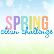 Spring Clean Challenge