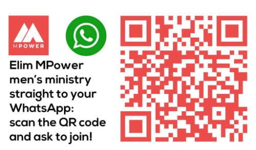 MPower WhatsApp QR code